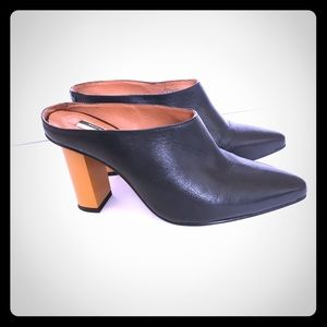 Top Shop heeled mules